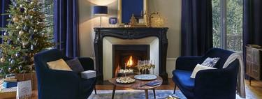 La colección BLUE de Maisons Du Monde se basa en la elegancia para adornar el hogar estas navidades