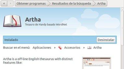 Artha: Te echa una mano con el inglés en Linux
