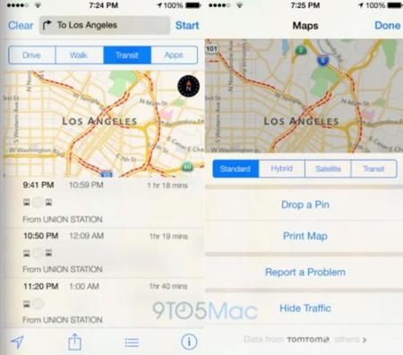 Apple prepara un iOS 8 en el que los mapas cobrarán más relevancia
