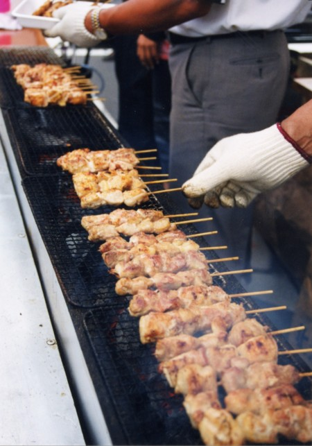 Cooking Yakitori