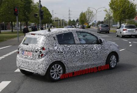 Fotos espía: nuevo Chevrolet Spark