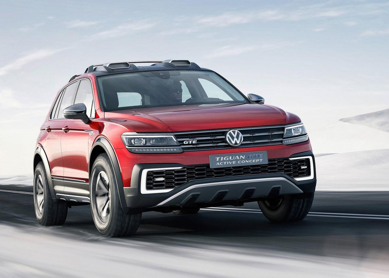 Foto de Volkswagen Tiguan GTE Active Concept (13/17)