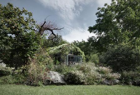 De garaje abandonado a preciosa casa de jardín
