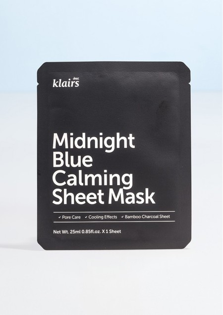 Midnight Blue Calming Sheet Mask Klairs