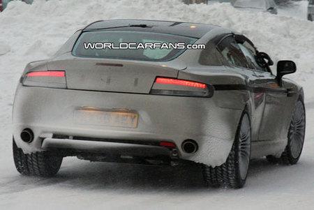 Aston Martin Rapide, nuevas fotos espía