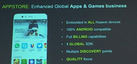Huawei lanzará su propia tienda de apps en Europa en el primer trimestre de 2018