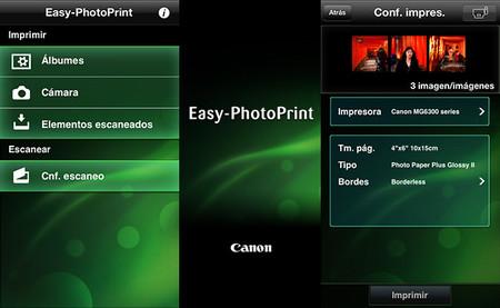 Imprime sin cables desde smarphones y tablets con la aplicación Canon Easy-PhotoPrint y Apple AirPrint