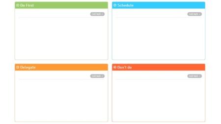 Eisenhower, una aplicación web para el método de gestión de tareas con dicho nombre