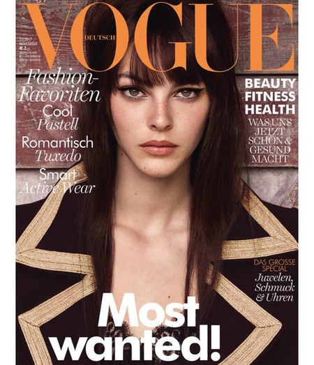 Vittoria Ceretti en Vogue Germany