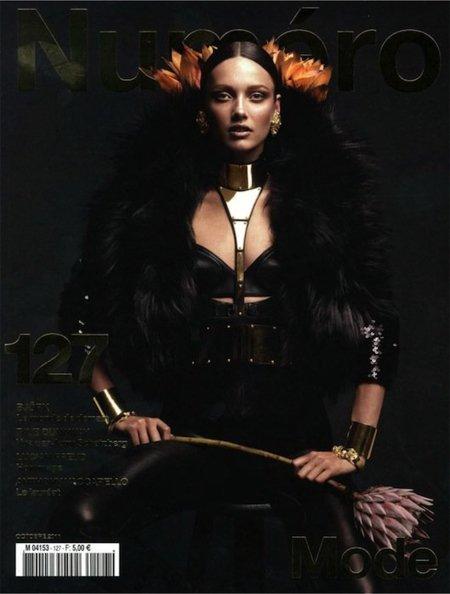 Duelo de portadas: en este mes de Octubre ¿Numéro o Vogue México?