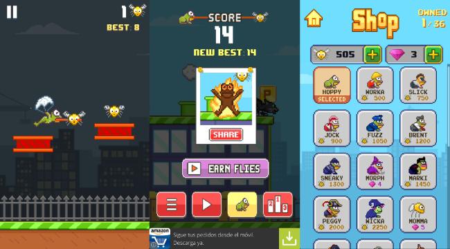 Hoppy Frog para Android