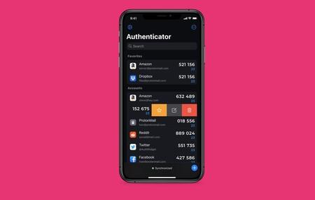 Authenticator, de 2Stable, una de las mejores apps para gestionar nuestros códigos de doble factor: la app de la semana