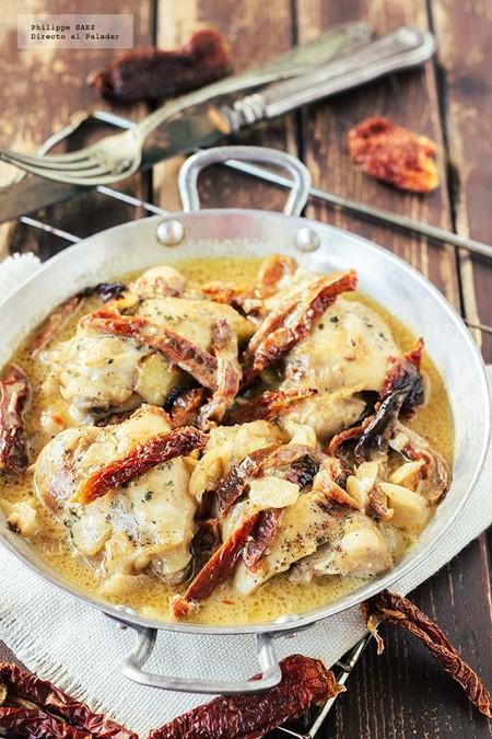 Pollo Crema Jitomate