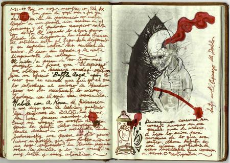 Guillermo Del Toro cuadernos