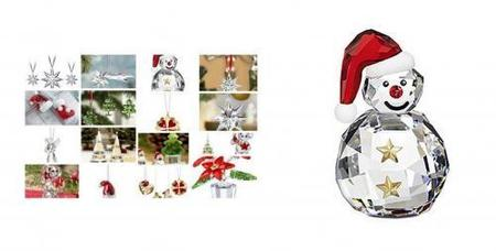 Swarovski, decoraciones para tu árbol de Navidad 2009