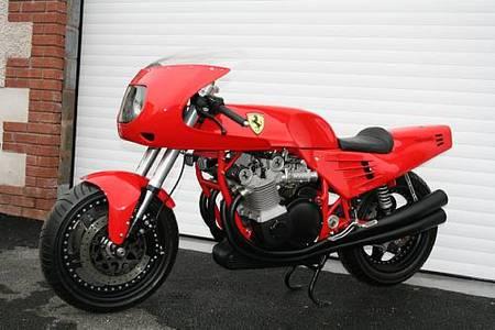 La auténtica moto Ferrari