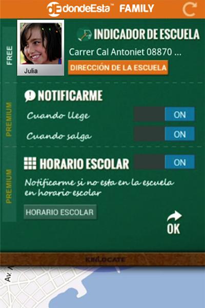 dondeEsta Family: seguridad y tranquilidad a través del móvil. Os permitirá supervisar a vuestros hijos