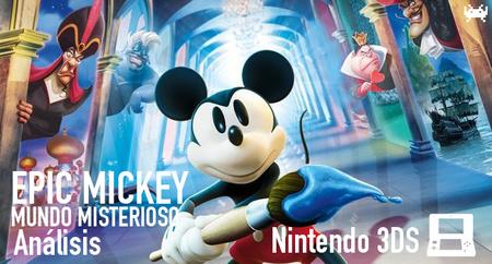 'Epic Mickey: Mundo Misterioso' para Nintendo 3DS: análisis