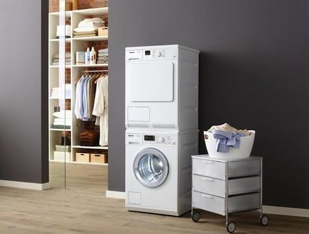 Elegancia en poco espacio para secar tu ropa en invierno con las nuevas secadoras de Miele