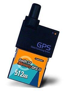 SysOn CF, tarjeta CompactFlash con GPS y memoria