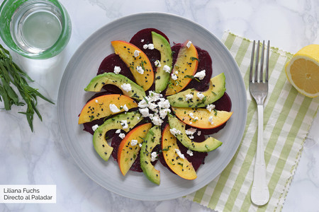 Recetas de verano, variadas y refrescantes,  en el menú semanal del 23 de julio