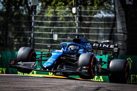 Alonso Imola F1 2021