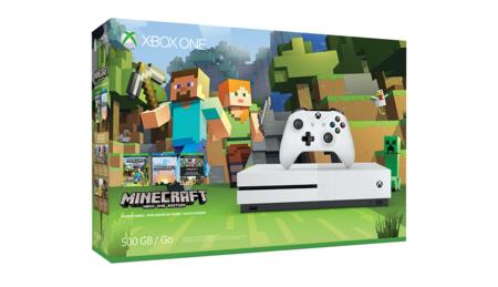 Outlet Days en MediaMarkt: Xbox One S + Pack Minecraft por 186,75 euros