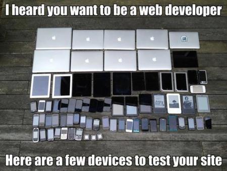 El desarrollo web ya no es tan simple como antes. La imagen de la semana
