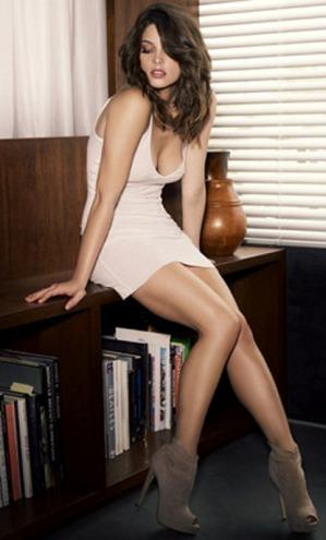 Ashley Greene, de Crepúsculo, muy sexy para Men's Fitness