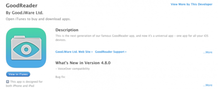 Más barreras: GoodReader desactiva la creación de carpetas en iCloud Drive desde iOS
