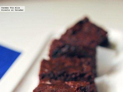 Brownie de remolacha, posiblemente el mejor brownie del mundo mundial. Receta (con vídeo incluido)