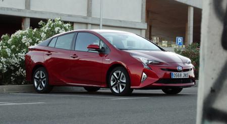 LED Prueba Toyota Prius Exteriores