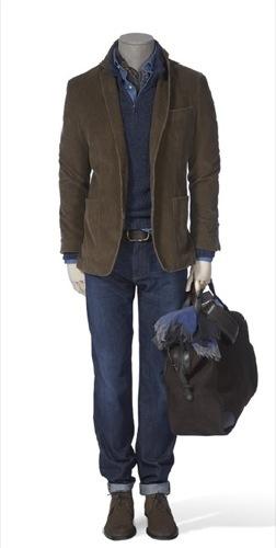 Looks de invierno de Massimo Dutti, americana marrón