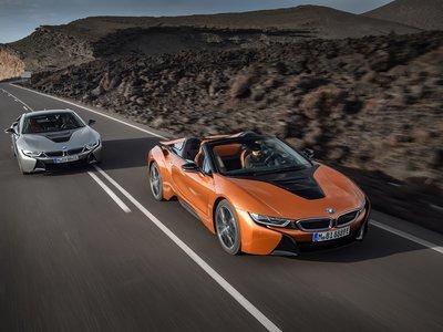 Los nuevos BMW i8 Coupé y Roadster ya tienen precio para España, y llegan en mayo