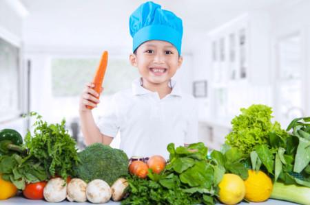 Estrategias científicamente probadas para que los niños coman más verduras