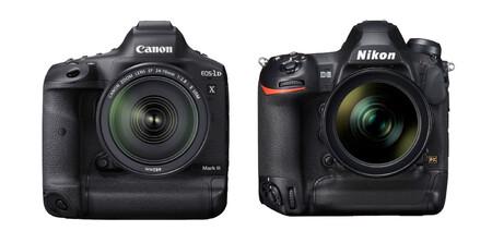 Canon Eos 1d X Mark Iii Vs Nikon D6
