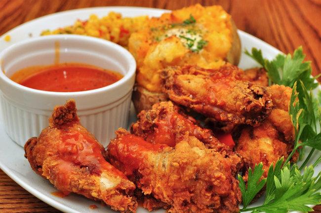 Alitas de pollo picantes