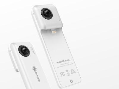 Graba y transmite vídeos en directo en 360 grados desde el iPhone con esta pequeña cámara