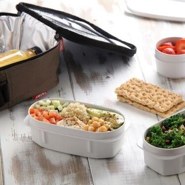 La vuelta a las comidas de oficina, más llevadera con esta bolsa térmica de Tatay: cuesta 15 euros e incluye cuatro tápers