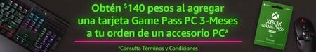 Promoción Xbox Game Pass en Amazon México