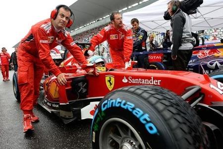 Sebastian Vettel podría haber estropeado los planes de Fernando Alonso