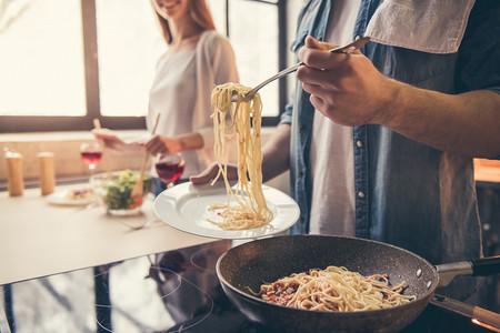 Cocinar y probar