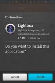 Confirmación de la UI