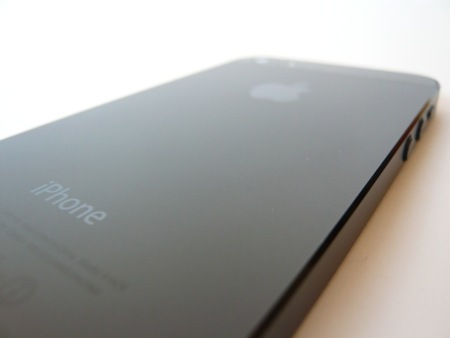 iPhone 5 trasera sin rayas