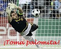Casillas y la selección, ¡enhorabuena!