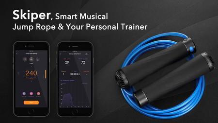Con música y rastreador de actividad, esta cuerda para ejercitarse será tu nuevo aparato favorito