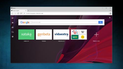 Sí, yo sigo usando Opera como único navegador