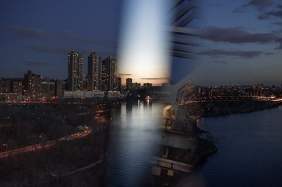 NYC Prism, Nueva York a través de un prisma de cristal