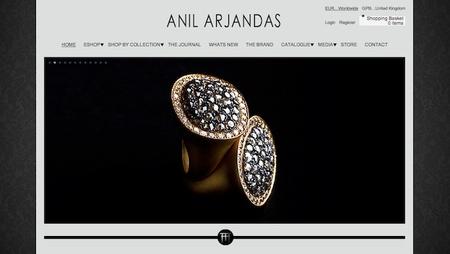 La joyería Anil Arjandas se moderniza: abre tienda online