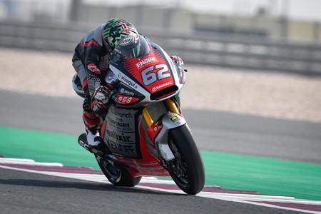 ¡Increíble! La MV Agusta de Stefano Manzi perdió su rueda delantera tras caerse en los entrenamientos de Moto2